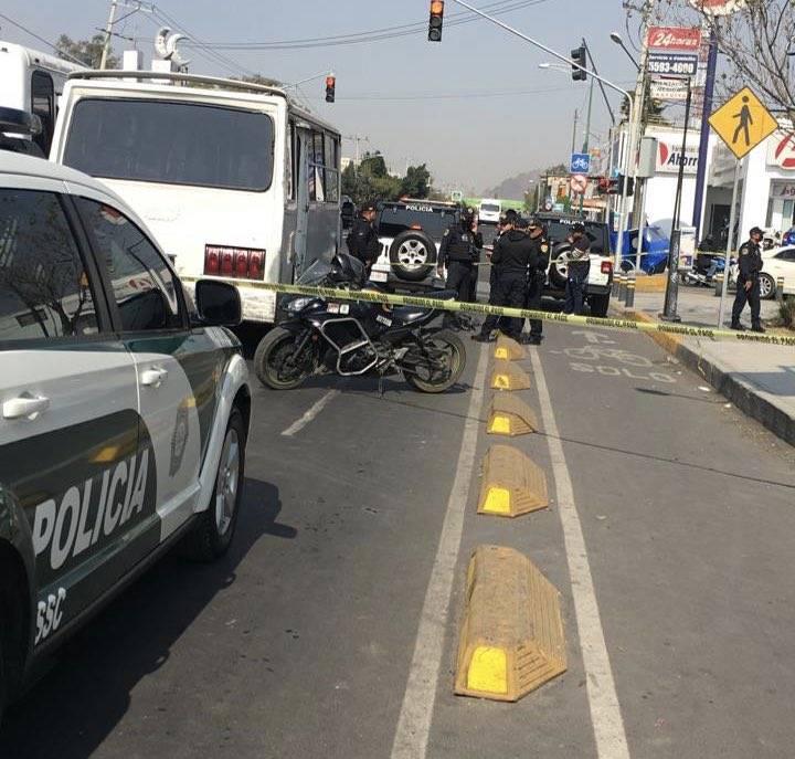 Pasajera de microbús asesina a presunto asaltante en Tláhuac