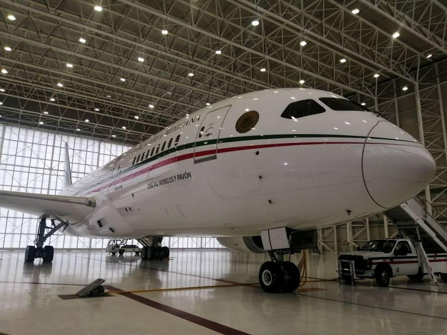AMLO reconoce que no pueden vender avión presidencial