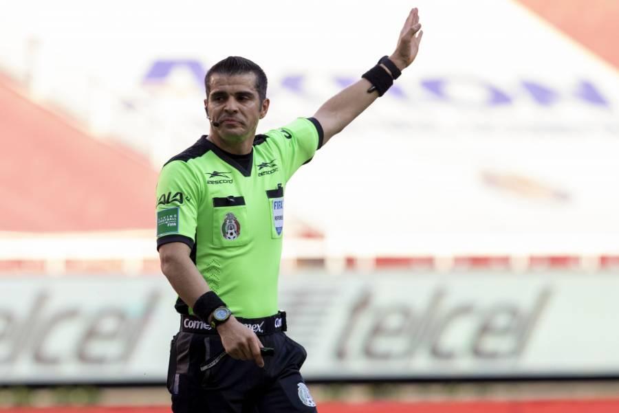 Fernando Hernández, pitará la Final de ida entre Pumas y León