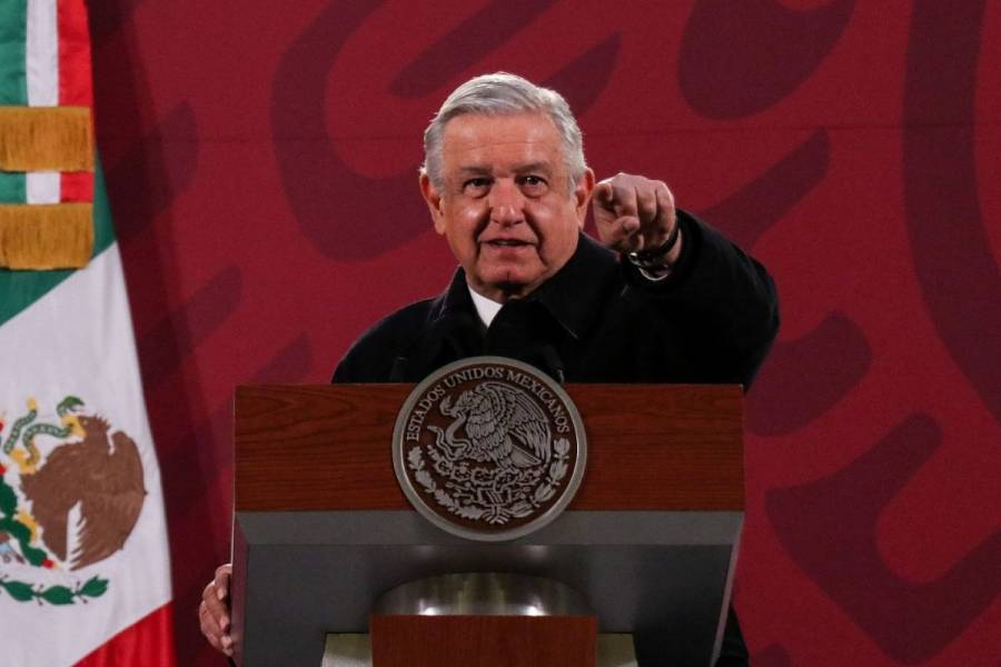 Sin oposición fuerte a su régimen, dice AMLO