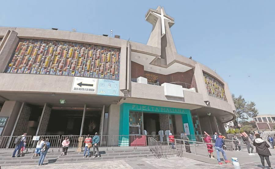 Arriban 12 mil 814 feligreses a la Basílica de Guadalupe