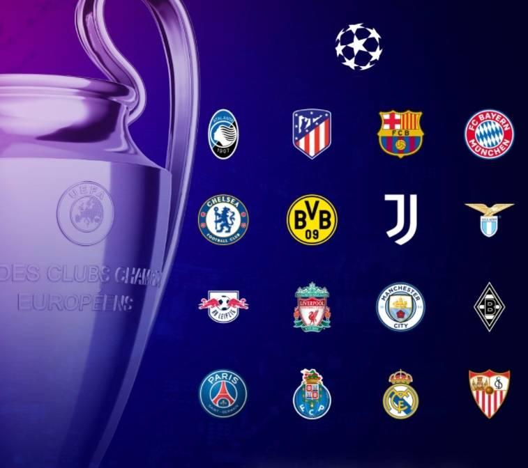 Listos los 16 equipos que disputarán los Octavos de Final de la Champions