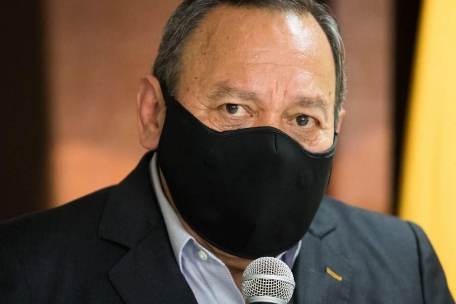Jesús Zambrano, presidente nacional del PRD, da positivo a Covid-19