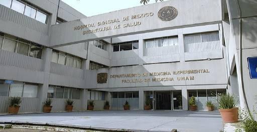 En Semáforo Rojo por Covid Hospital General de México en CDMX