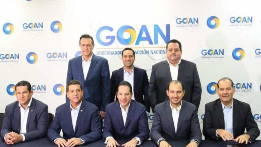 GOAN acordó aplicar uso obligatorio de cubrebocas en sus estados