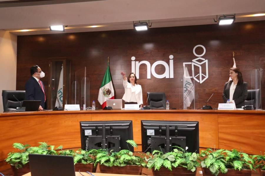 Blanca Ibarra, nueva presidenta del INAI