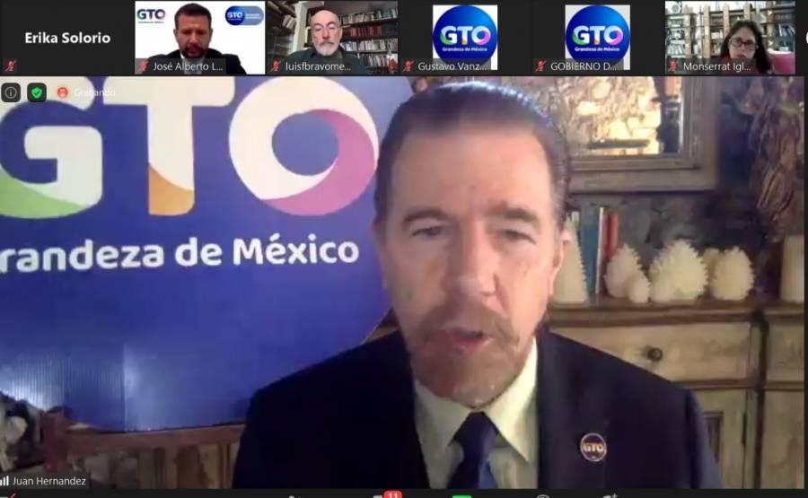 Guanajuato promueve acciones para la internacionalización de sus 46 municipios