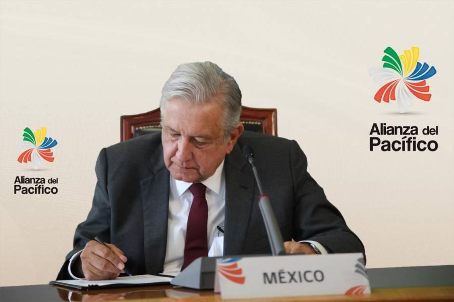 Declaración de Santiago por presidentes de Chile, Colombia, México y Perú