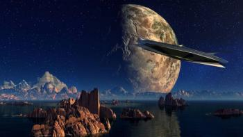 """Ex jefe de seguridad espacial: """"Los extraterrestres son reales, Donal Trump lo sabe"""""""