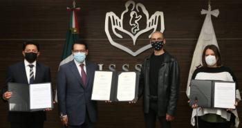 ISSSTE firma convenio para promover y desarrollar actividades culturales