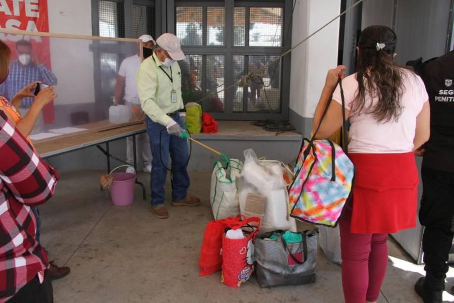 """Arranca """"Operativo de Fiestas Decembrinas 2020"""" en prisiones de la CDMX"""