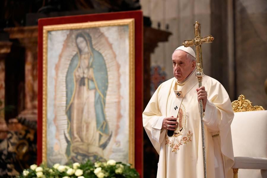 Papa Francisco celebra misa por la Virgen de Guadalupe en el Vaticano