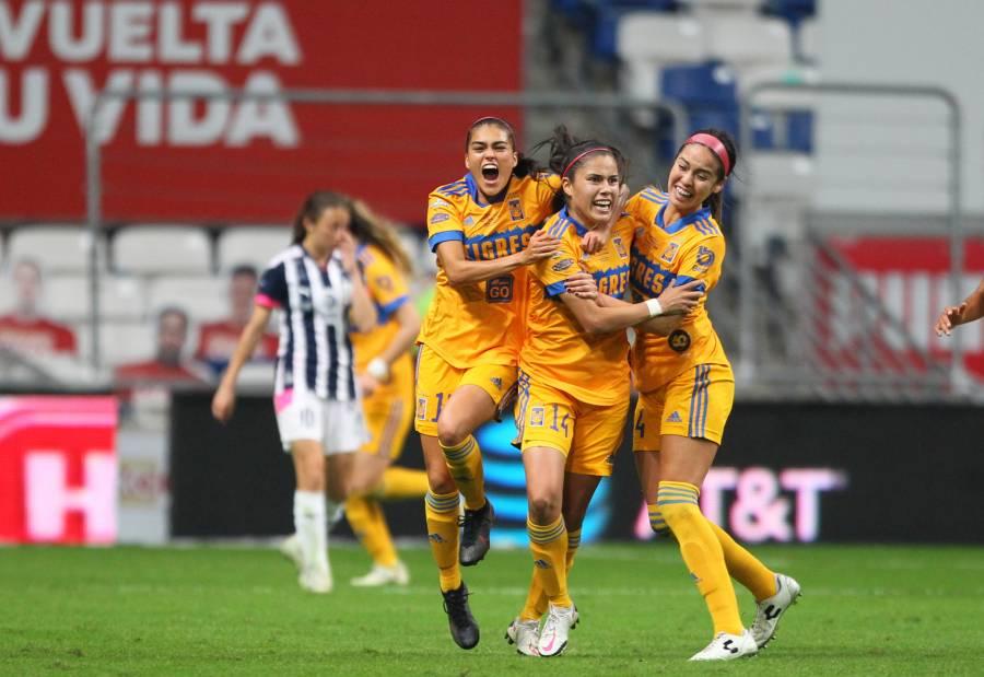 Tigres vence a Monterrey en la final de ida de la Liga MX Femenil
