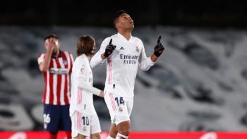 Real Madrid vence al Atlético y se lleva el derbi madrileño