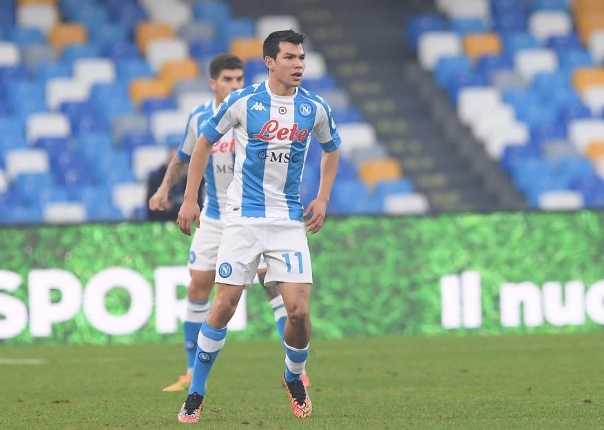 """""""Chucky"""" Lozano en plan estelar, colabora en la victoria del Napoli sobre la Sampdoria"""