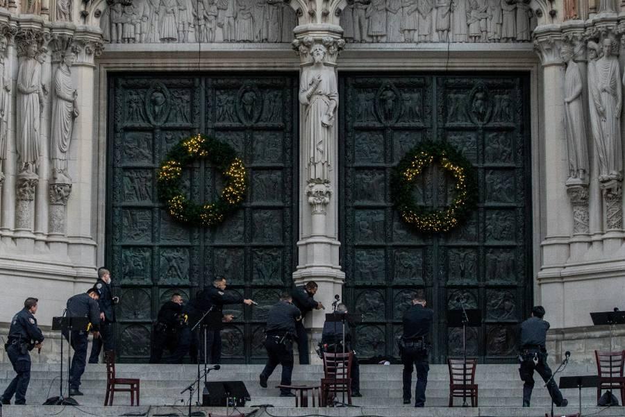 Nueva York: En evento navideño de iglesia, sujeto abre fuego