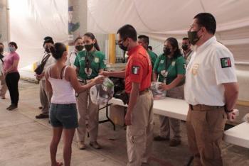 INM mantiene apoyo a afectados por inundaciones en Tabasco