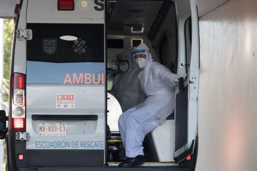 Abuelito con síntomas de Covid-19 falleció rumbo a la clínica 4 del IMSS