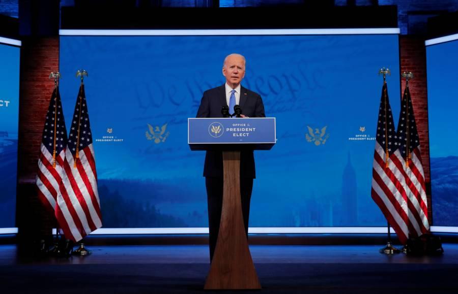 Joe Biden: Como Trump en 2016, gané contundentemente y gobernaré para todos los estadounidenses