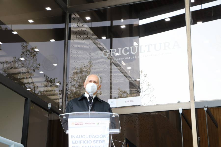 Inaugura Agricultura nueva sede de Senasica