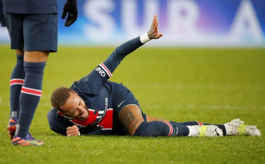 PSG respira: Lesión en el tobillo de Neymar no es grave