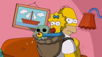 Video: Los Simpson y Baby Yoda protagonizan divertido cortometraje de Disney