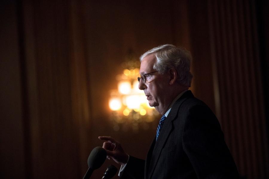 Líder republicano en el Senado  reconoce triunfo de Biden