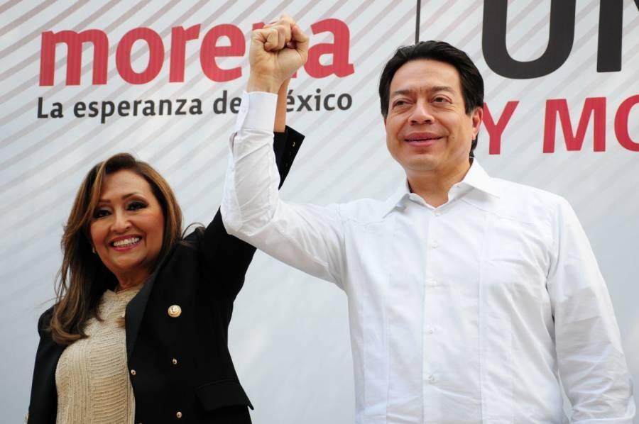 Va Lorena Cuéllar con Morena por Tlaxcala