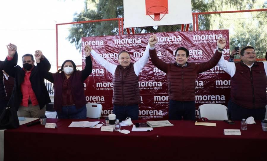 Nueva Alianza y PVEM, me apoyarán en Sonora: Alfonso Durazo