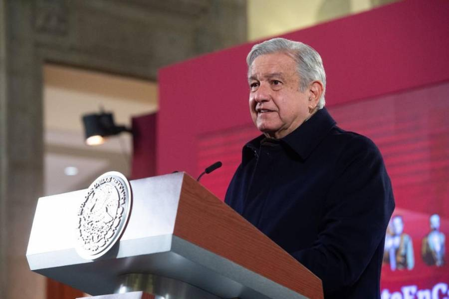 México con paz y tranquilidad, asegura AMLO