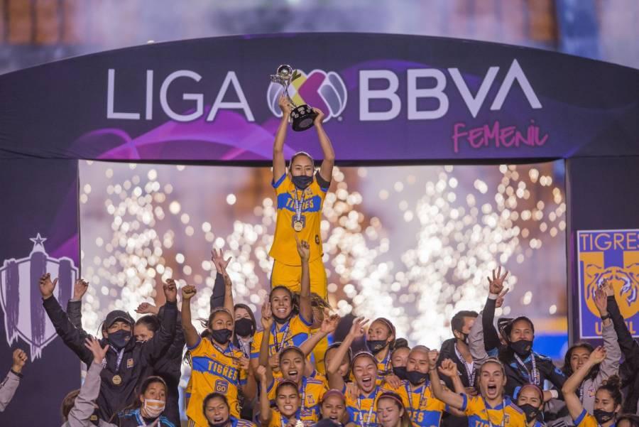 Tigres vence en penales a Rayadas y se coronan campeonas de la Liga MX Femenil