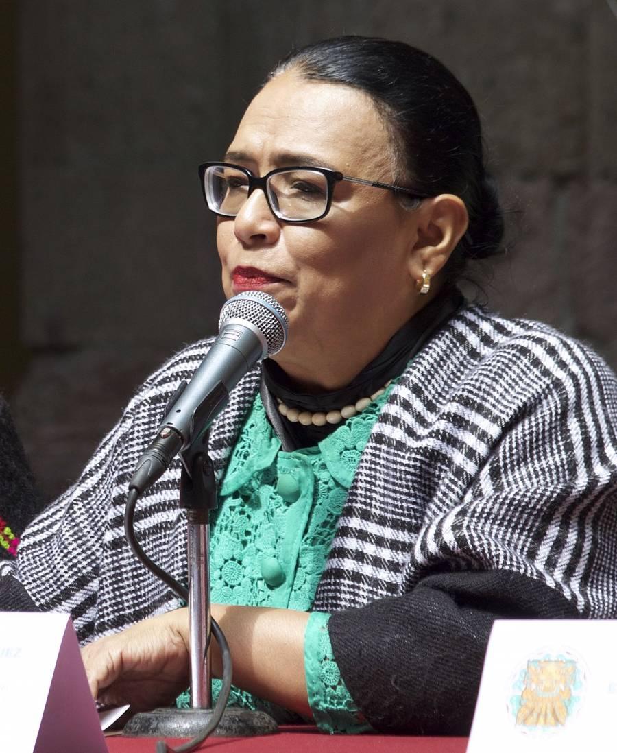 Se reunieron AMLO y Rosa Icela Rodríguez, propuesta para la SSPC
