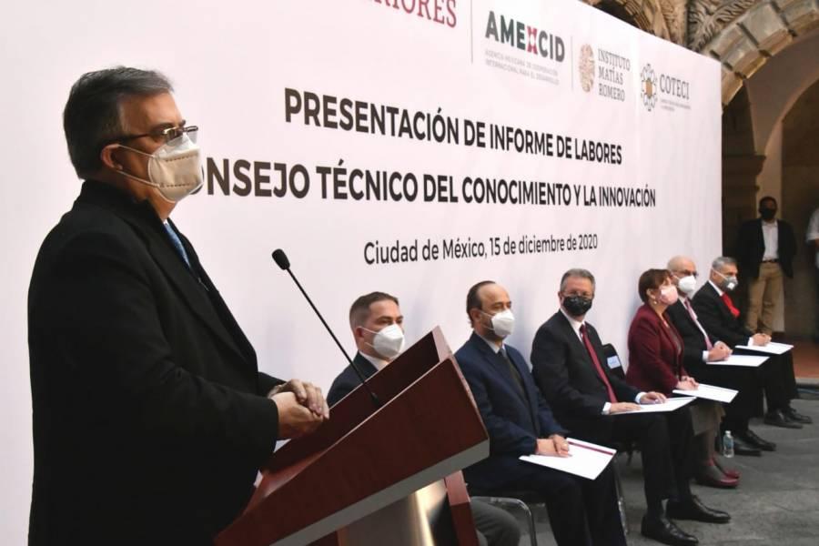 México debe tener su propia vacuna contra Covid: Ebrard