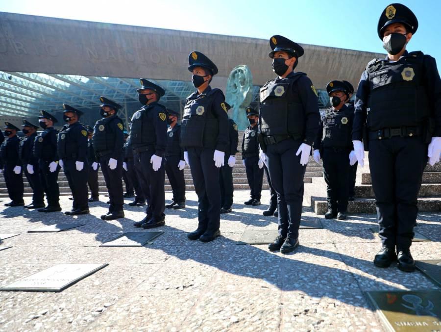 Alcaldía Miguel Hidalgo recibe 120 elementos de SSP CDMX para labores de seguridad
