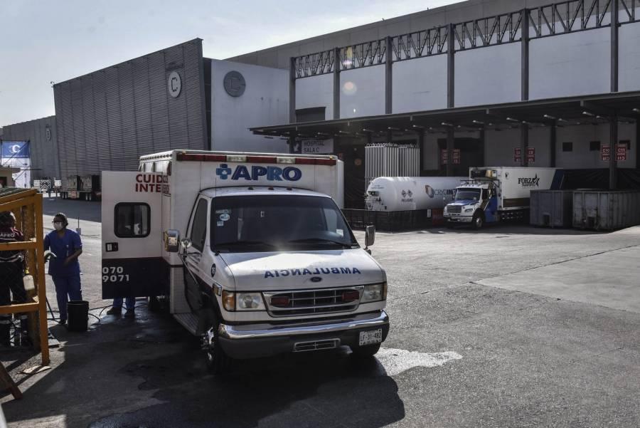 Anuncian ampliación de operaciones de la Unidad Temporal Covid-19 en el Centro Citibanamex