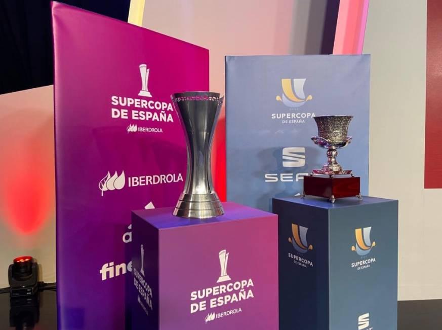 Barca-Real Sociedad y Real Madrid-Athletic Bilbao disputarán la Supercopa de España
