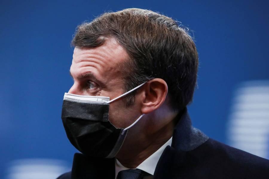 Emmanuel Macron, positivo por COVID-19