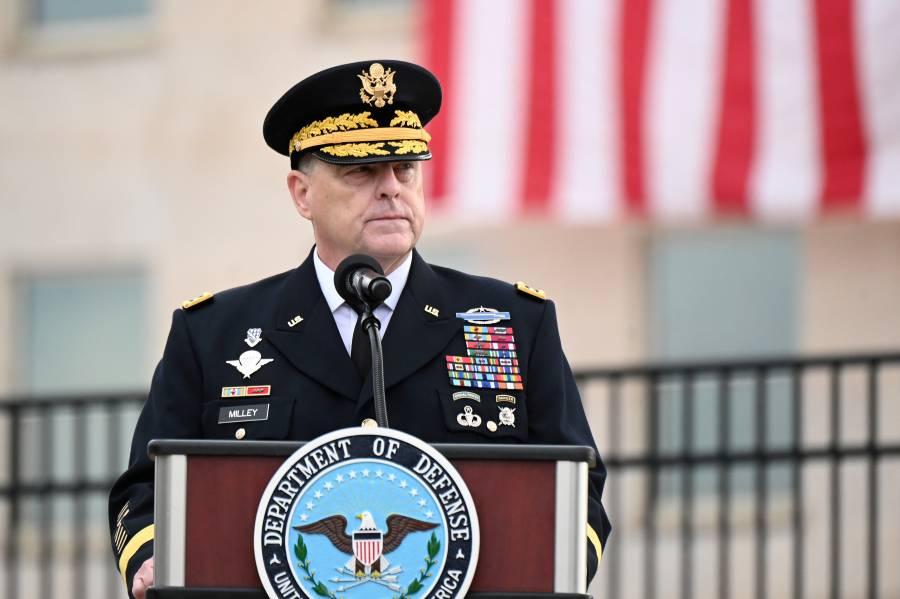 Máximo general estadounidense se reúne con talibanes en Qatar