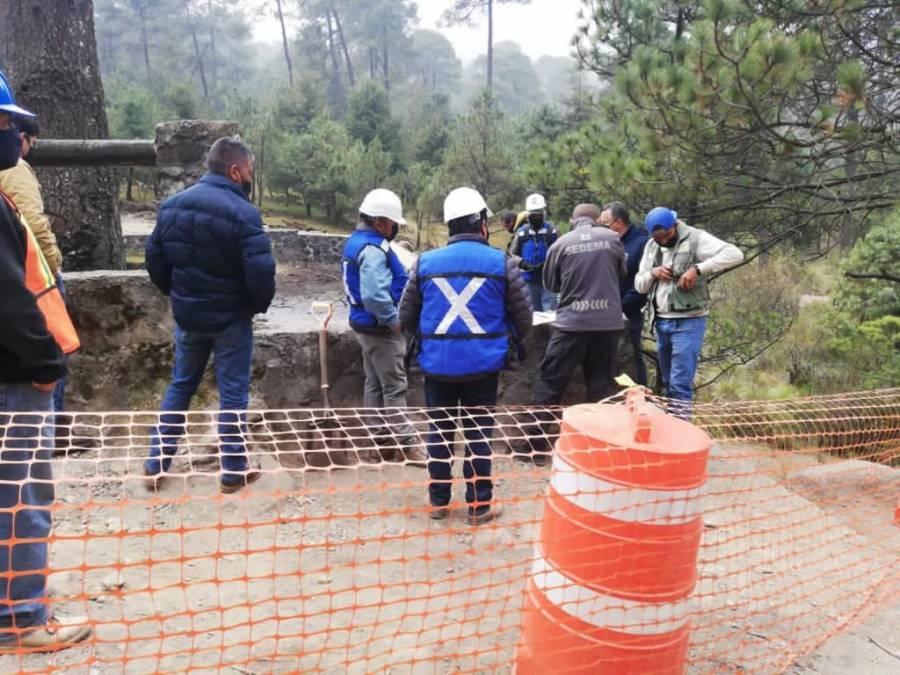 Cuajimalpa desazolva presas; invierte 5.8 mdp