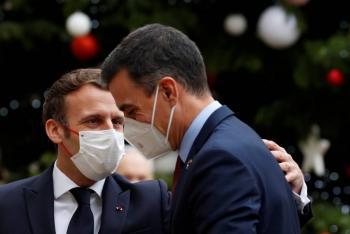 Presidente español, Pedro Sánchez, en cuarentena tras contacto con Macron