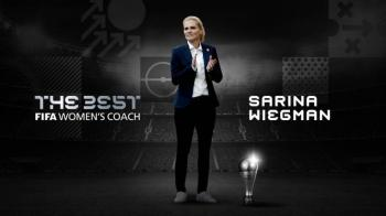 Sarina Wiegman, se lleva el The Best a la mejor entrenadora