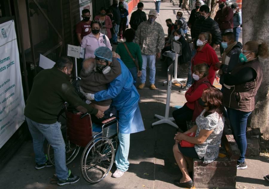 Ciudad de México, al límite en saturación de hospitales