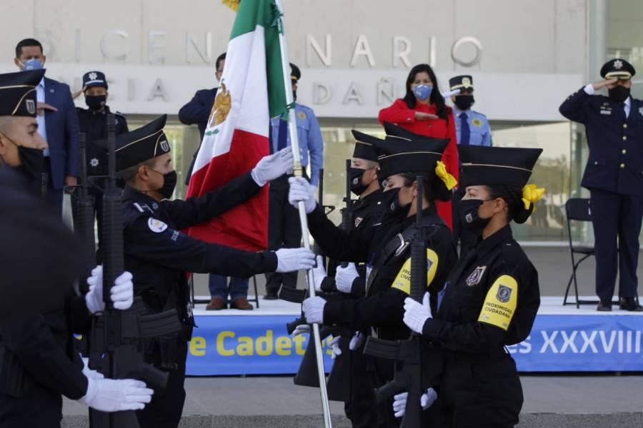 Egresan 112 policías de la Academia de Seguridad de León