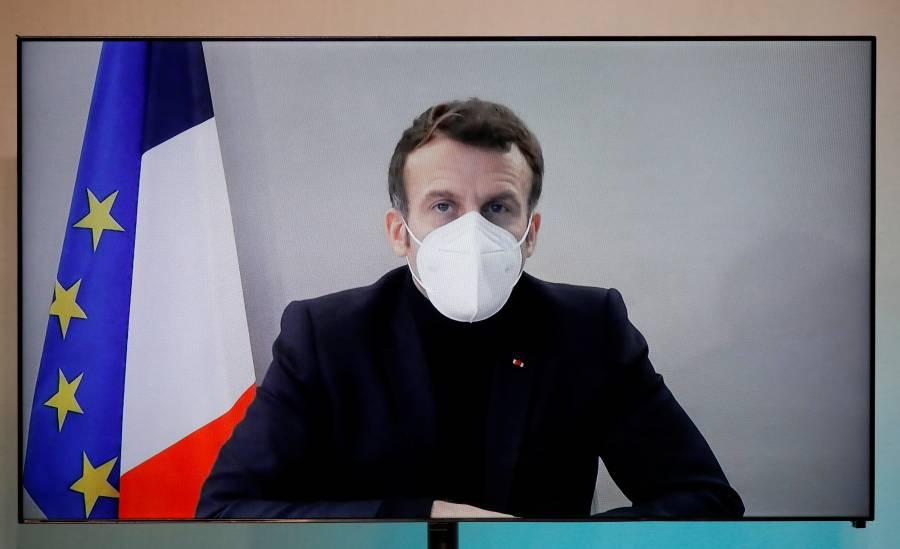 Macron da positivo y genera  efecto dominó en el continente