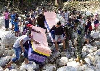 AMLO anuncia apoyo de 18 mil mdp para damnificados de Tabasco y Chiapas