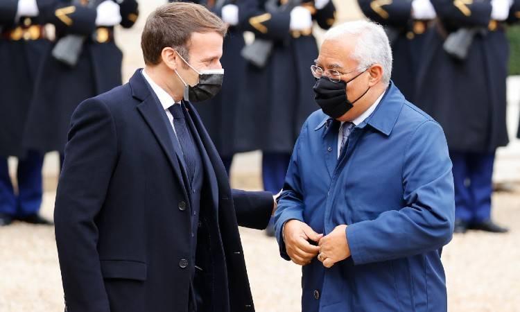 Antonio Costa, primer ministro portugués se aísla tras encuentro con Macron
