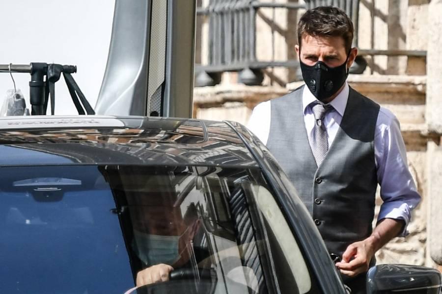 Tras escándalo en el set Tom Cruise adelanta vacaciones