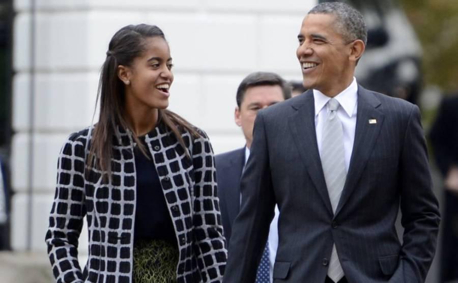 Barack Obama es un papá y suegro muy moderno