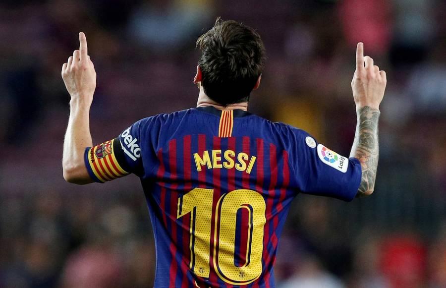 Messi iguala el récord de Pelé como máximo goleador en un mismo club