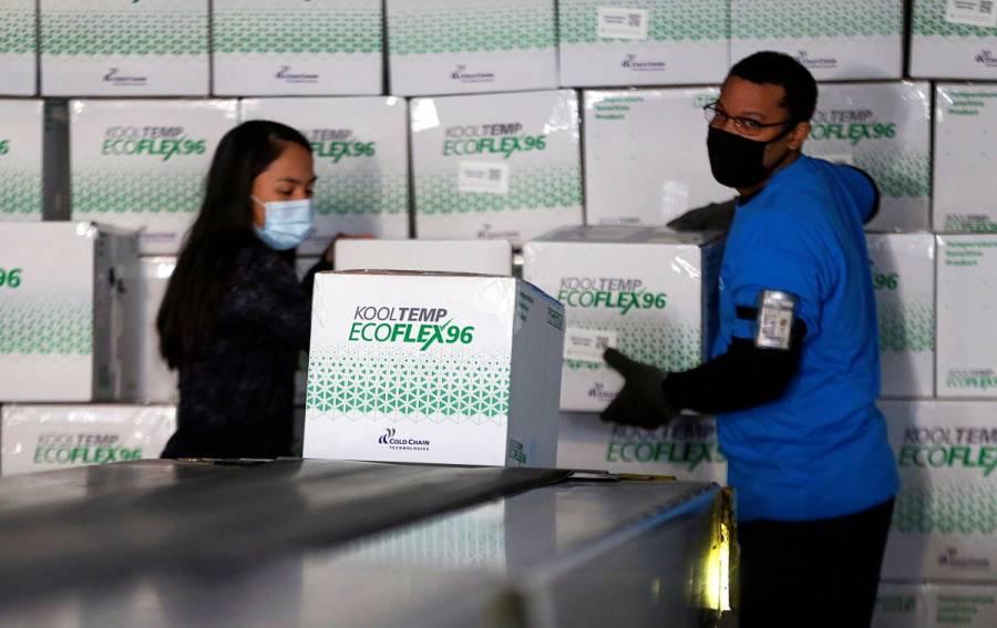 Unicef planea transportar hasta 850 toneladas de vacunas contra COVID-19 al mes